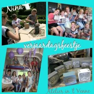 Kinderfeestjes Atelier in 't  Venne 3